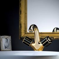 Bongio Fleur Смеситель для раковины на изделие 12521 золото