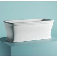 ArtCeram NEO ванна из искусственного камня отдельностоящая 180х85 см. белая матовая