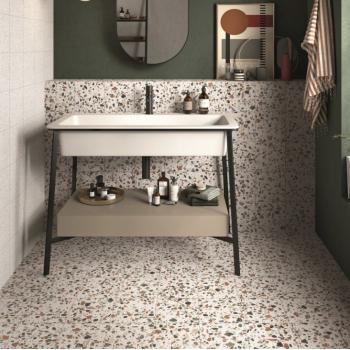 ABK PLAY DOTS | DROPS | MARBLE керамогранитная плитка для пола и стен TERRAZZO