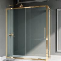 Samo Villa Borghese Dolce Vita душевая кабина угловая 170*90 см. стекло прозрачное, профиль золото