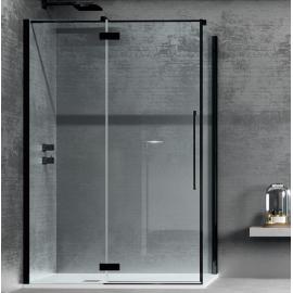 Samo Zenith душевая кабина угловая 120*90 см. стекло прозрачное, профиль черный