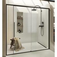 2B box H2  душевая дверь в нишу 90 см D2A NERO