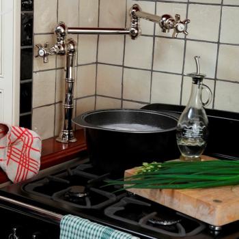 Nicolazzi Cucina CLASSICA кран  для кухни  1452CR18