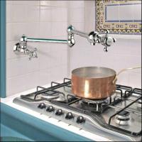 Nicolazzi Cucina CLASSICA кран  для кухни настенный 1451CR70