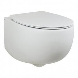 AeT Dot 2.0 унитаз консольный в комплекте с крышкой ,цвет  белый глянец