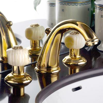 Nicolazzi Onice смеситель для раковины на изделие 2108GO09O цвет золото