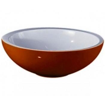 """AeT L450 """"SPOT MINI 2"""" раковина цвет внутри белый/снаружи оранжевый"""