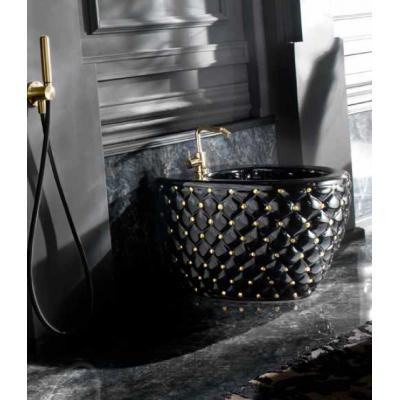 Signorini Downtown Смеситель для раковины настенный цвет satin brass