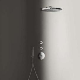 Fantini Venezia Лейка 200 мм для верхнего душа настенная 9230 отделка хром