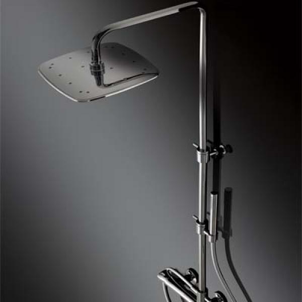 LaTorre Laghi Термостатический душевой комплект настенный 44936COL
