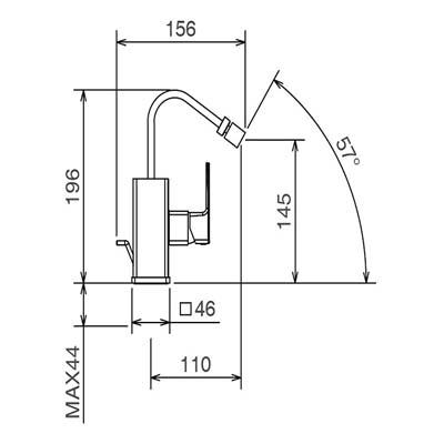 LaTorre Profili Смеситель для биде на изделие 45661 CS