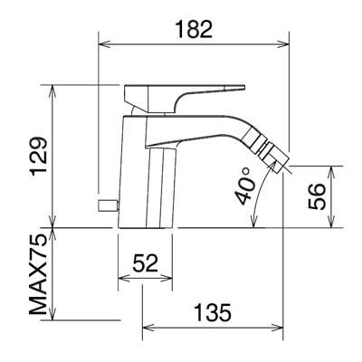 LaTorre Woda Cмеситель для биде на изделие 37011 CS