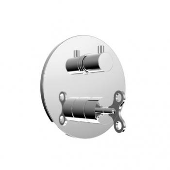 Bongio Acquacarica Смеситель для душа встроенный с переключателем 63519CRPR