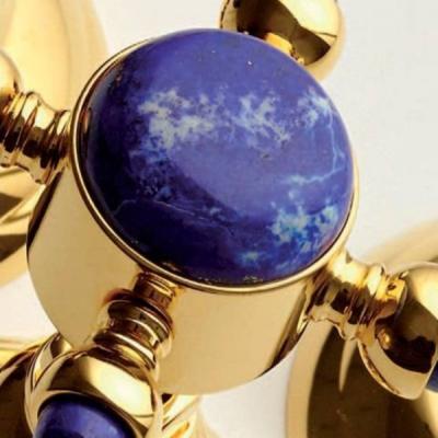 Nicolazzi Le Pietre смеситель для душа настенный встроенный 2103GB09 цвет золото