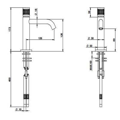 Bongio Time2020-T Смеситель для раковины на изделие 71521AS0