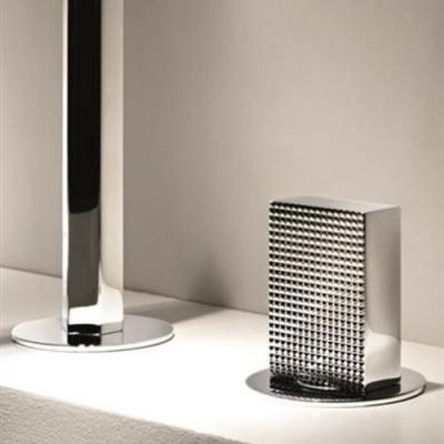Fantini Venezia Смеситель для раковины на изделие N458SB+19 00 5911A цвет хром +ручки мурано черные