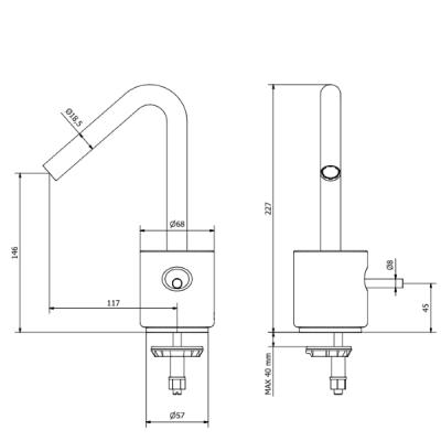 IB Rubinetterie Marmo Смеситель для раковины на изделие MR200_1