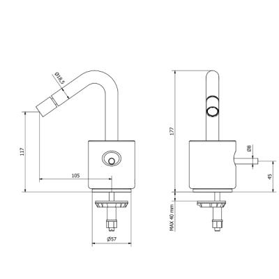 IB Rubinetterie Marmo Смеситель для раковины на изделие MR220_1