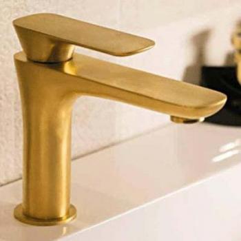LaTorre Laghi Смеситель для раковины на изделие 44001 TC золото матовое
