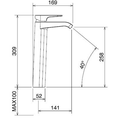 LaTorre Woda Cмеситель для раковины на изделие 37501 TC