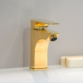 Nicolazzi Jungfrau Смеситель для раковины на изделие  3102GB64 цвет золото