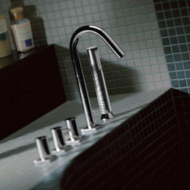 Bongio Aqua Смеситель для ванны на борт 40531/D