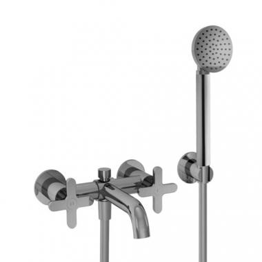 Fantini Icona Classic Смеситель для ванны настенный R015 цвет хром
