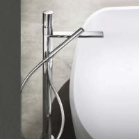 Fantini Milano Смеситель для ванны напольный 3080B+19 00 3380A отделка хром
