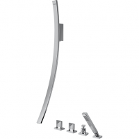 Graff Luna Смеситель для ванны с душевым комплектом 5363300