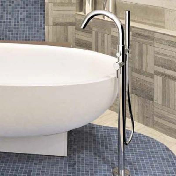 LaTorre Newtech Смеситель для ванны напольный 12044 PAV