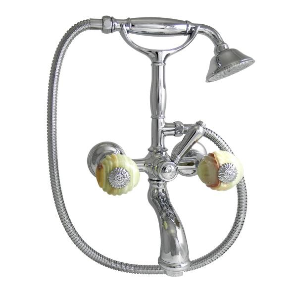 Nicolazzi Onice смеситель для ванны с душем настенный 2101CR09O