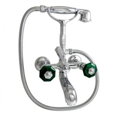Nicolazzi Teide Chic смеситель для ванны с душем настенный 1901CR15C