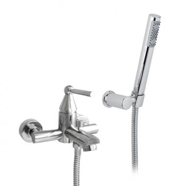 Nicolazzi Torre Смеситель для ванны с душем настенный 3901