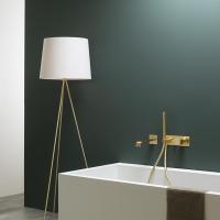 Ritmonio Taormina смеситель для ванны настенный PR35EM101+PR35MC001