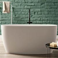 BluBlue Portofino ванна из искусственного камня отдельностоящая 160х70 см. белая матовая