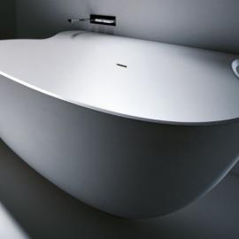 Falper Vascamisura Built-In ванна из искусственного камня встраиваемая 190x90 cm. белая матовая