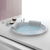 Hafro Bolla акриловая ванна встраиваемая диаметр 160 см