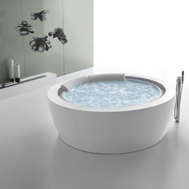 Hafro Bolla infinity акриловая ванна отдельностоящая диаметр 190 см