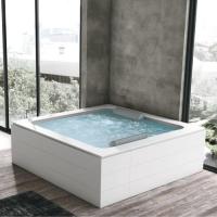 Hafro Bolla Q infinity акриловая ванна отдельностоящая 190х190 см