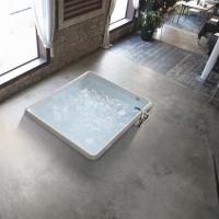 Hafro Bolla Q акриловая ванна встраиваемая 160х160 см