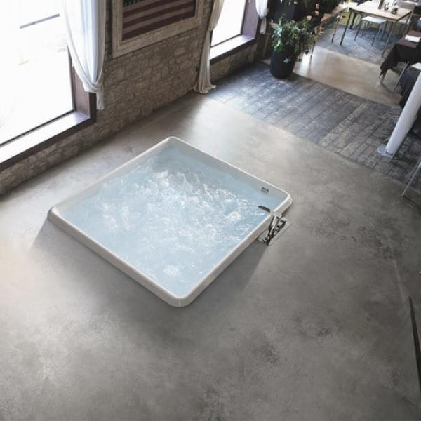 Hafro Bolla Q акриловая ванна встраиваемая 152,5х152,5 см