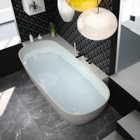 Hafro Сalle ванна из искусственного камня длина от 155 до 170 см
