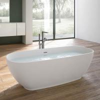 Hafro Move ванна из искусственного камня отдельностоящая  170х70 см. с сифоном