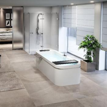 Novellini Divina F акриловая ванна отдельностоящая 180х80 см