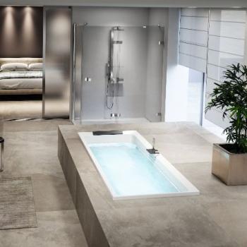 Novellini Divina акриловая ванна встраиваемая длина от 170 до 190 см