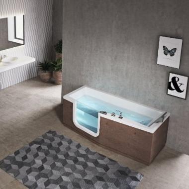 Novellini Iris акриловая ванна длина от 160 см до 180 см