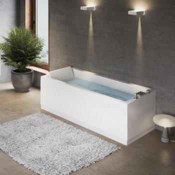 Novellini Calos 2.0 акриловая ванна длина 170x80 cm без ножек и сифона