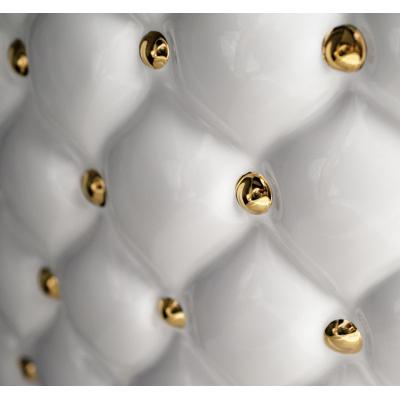 AeT CLASS WC унитаз напольный S501 белый глянец/золото
