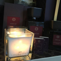 Locherber Milano ароматическая свеча Klinto 1817 90г