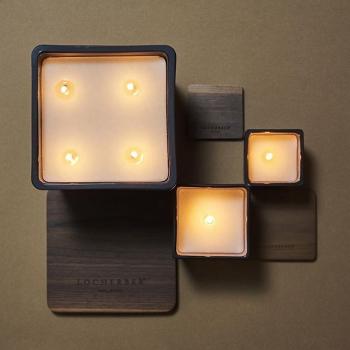 Locherber Milano ароматическая свеча Klinto 1817 210г